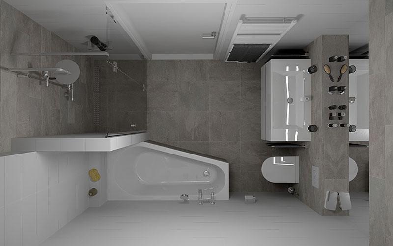 Tegels in een kleine badkamer - Woning informatie