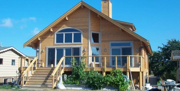 houten huis