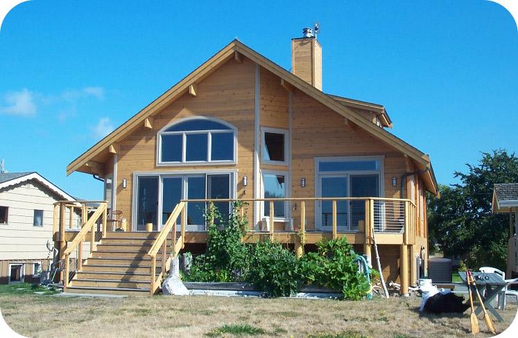 een houten huis bouwen hoe werkt dat woning informatie