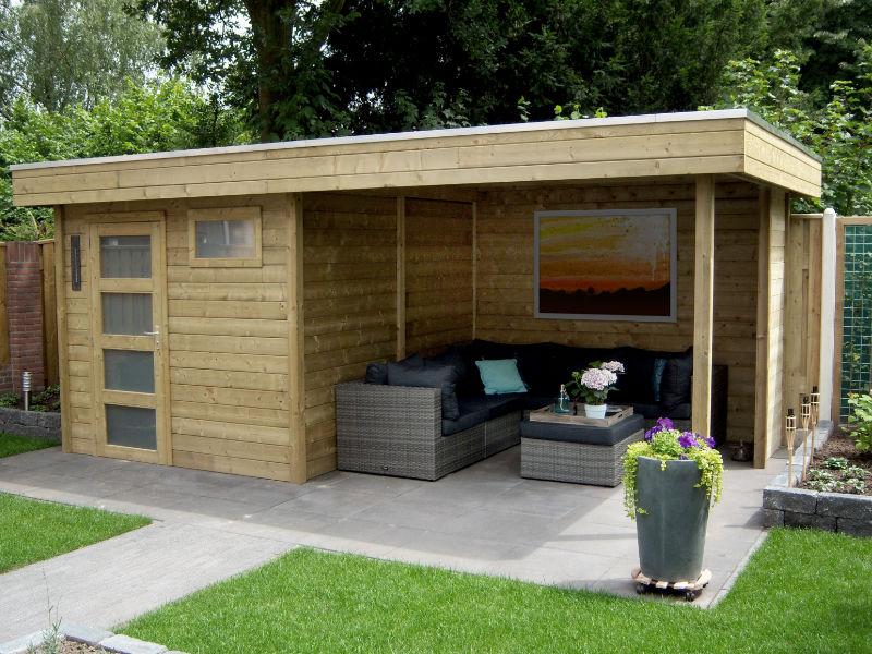 De voordelen van een tuinhuis op een rij woning informatie - Huis in de tuin ...
